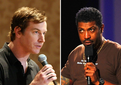 Rob Huebel y Deon Cole